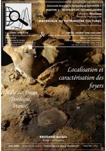 Couverture du mémoire de Master 2 Pro d'Aurélie Brodard