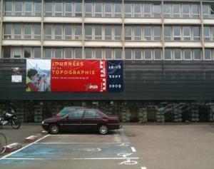Vue des locaux strasbourgeois de l'INSA