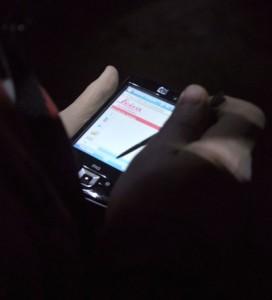 PDA sans fil permettant de contrôler le scan à distance