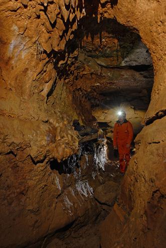 Vue du secteur 4 de la grotte des Fraux